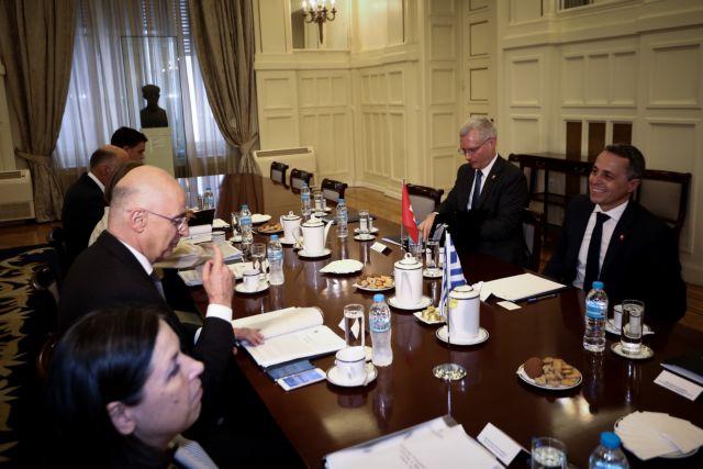 Γερουσιαστής Μενέντεζ: Η Τουρκία παραβιάζει τον ελληνικό εναέριο χώρο και διεξάγει παράνομες γεωτρήσεις | tovima.gr