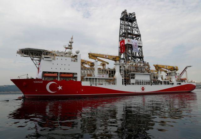 Οι τούρκοι φωτογραφίζουν το Γιαβούζ και επιδεικνύουν τις παράνομες γεωτρήσεις τους | tovima.gr
