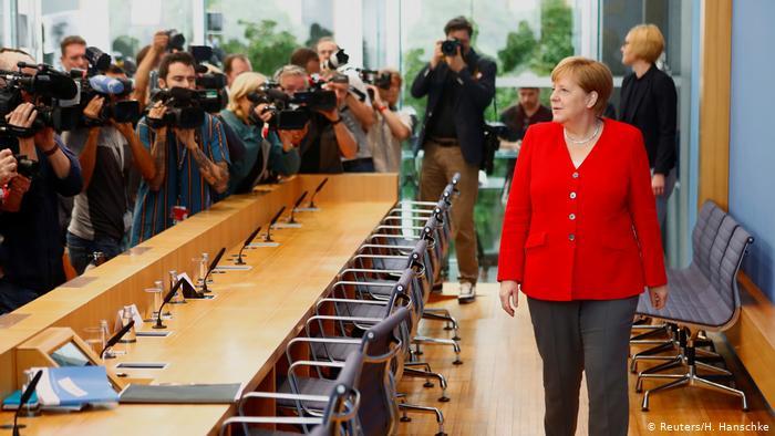 Μέρκελ: Καμία «έκπτωση» στον Κυριάκο Μητσοτάκη | tovima.gr