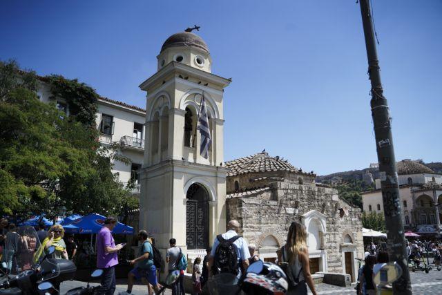 Αγία Ειρήνη: Η εκκλησία της οποίας κατέρρευσε ο σταυρός από το σεισμό | tovima.gr