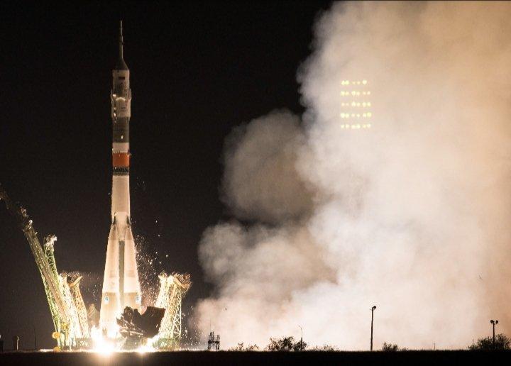 Επιτυχής εκτόξευση για τον επανδρωμένο πύραυλο Soyuz | tovima.gr