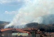 Πυρκαγιά στο Ναύπλιο – Κοντά σε κατοικημένη περιοχή
