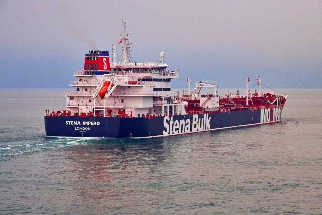 Το Ιράν δημοσίευσε βίντεο από το βρετανικό δεξαμενόπλοιο | tovima.gr