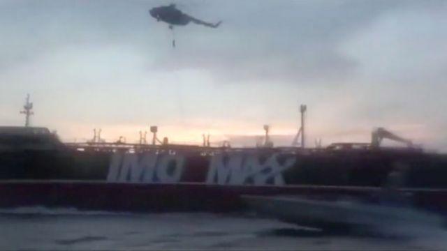 Ιράν: Καλά στην υγειά του το πλήρωμα του βρετανικού τάνκερ | tovima.gr