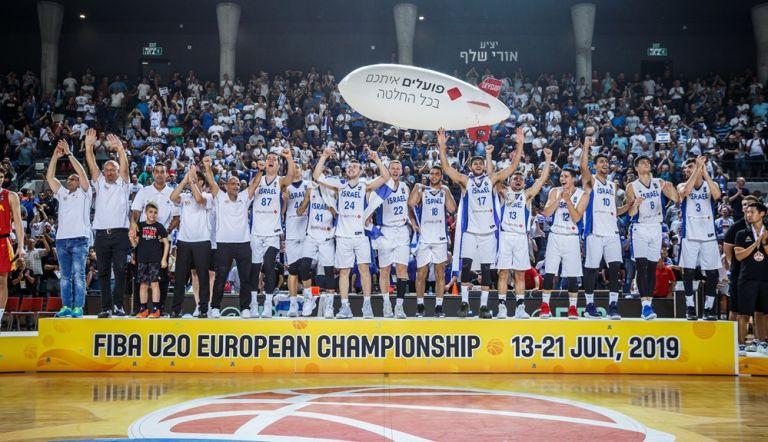 Eurobasket U20 : Πέτυχε το repeat το Ισραήλ, 92-84 την Ισπανία | tovima.gr