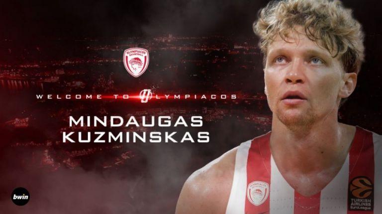 Ο Ολυμπιακός ανακοίνωσε τον Κουζμίνσκας | tovima.gr