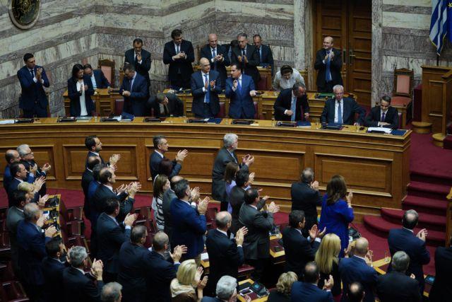 Ελαβε ψήφο εμπιστοσύνης η κυβέρνηση Μητσοτάκη – Με 158 «ναι»   tovima.gr