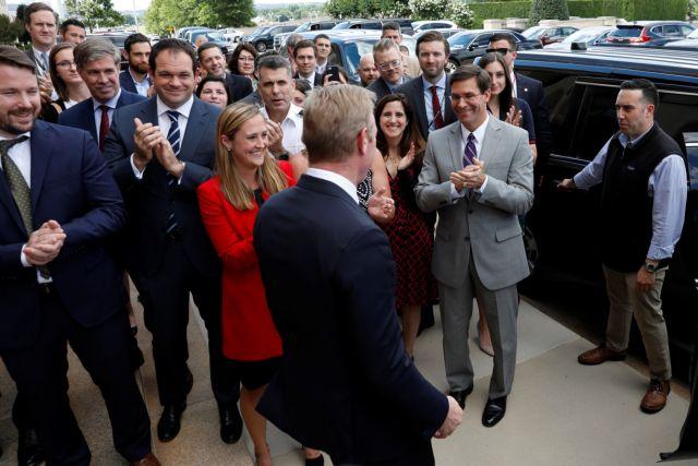 ΗΠΑ : Απέκτησε επικεφαλής το Πεντάγωνο – Ο Μαρκ Έσπερ νέος υπουργός Άμυνας   tovima.gr