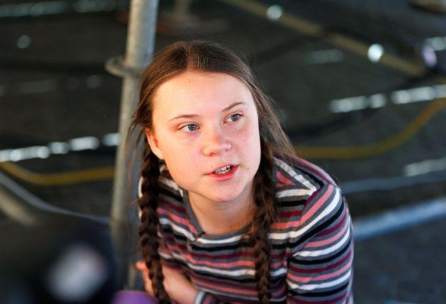 Συγκινητική παρέμβαση της 16χρονης ακτιβίστριας για την κλιματική αλλαγή | tovima.gr