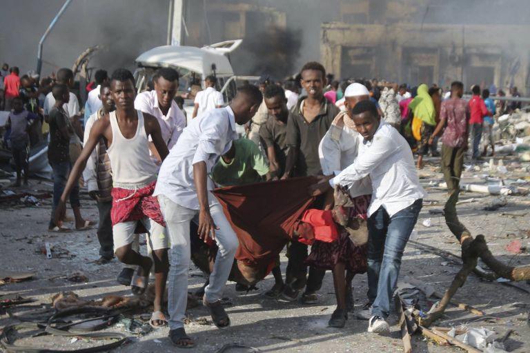 Σομαλία : 7 νεκροί από ισχυρή έκρηξη στο δημαρχείο του Μογκαντίσου | tovima.gr