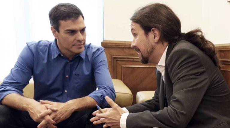 Ισπανία: Προς αδιέξοδο οι διαπραγματεύσεις  Σοσιαλιστών – Podemos για την ψήφο εμπιστοσύνης | tovima.gr