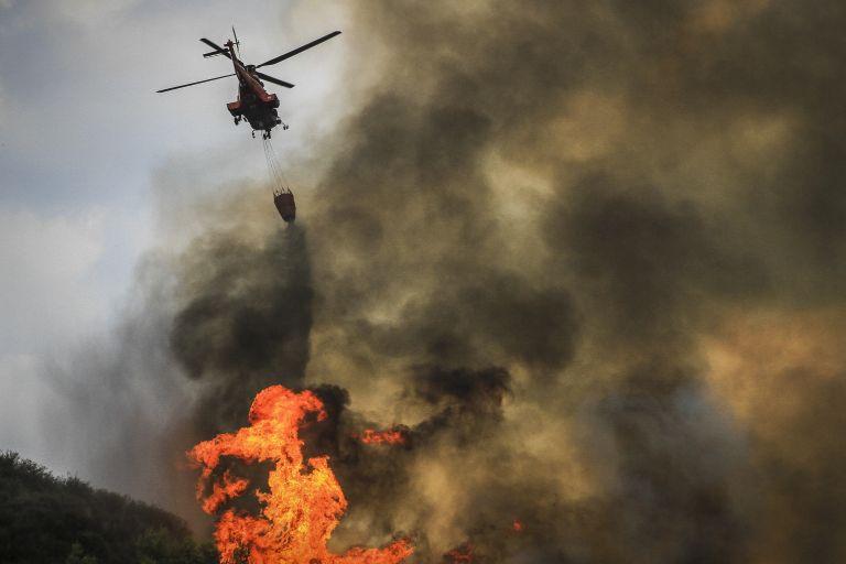 Πυρκαγιά στην περιοχή Καραβάδος του Ηρακλείου Κρήτης   tovima.gr