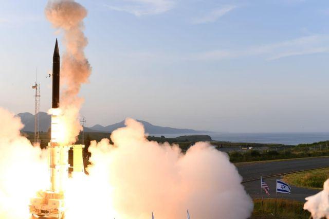 Επιτυχής δοκιμή από ΗΠΑ και Ισραήλ του συστήματος αεράμυνας Arrow-3 στην Αλάσκα   tovima.gr