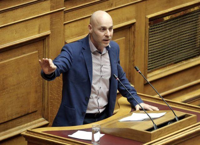Ενταση στη Βουλή : Αγριος καυγάς Αμυρά – Τζάκρη   tovima.gr