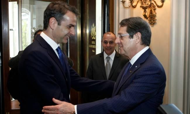 Μητσοτάκης : Δεν νοείται λύση του Κυπριακού χωρίς την αποχώρηση των κατοχικών στρατευμάτων   tovima.gr