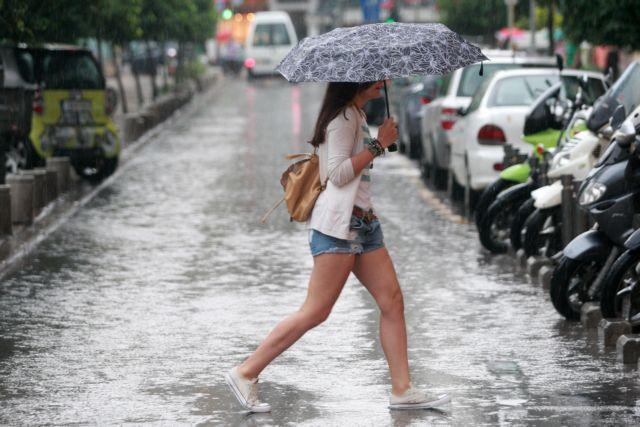 Πτώση της θερμοκρασίες και βροχές και καταιγίδες από το μεσημέρι της Τρίτης   tovima.gr