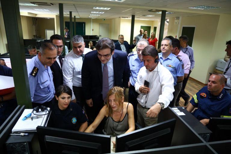 Ολοκληρώθηκε η άσκηση αποστολής SMS από τον 112 | tovima.gr