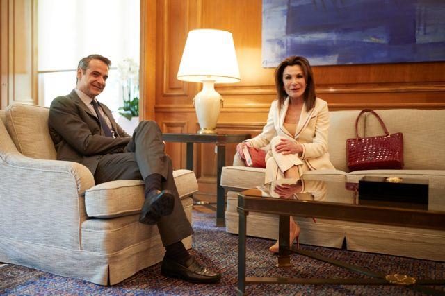 Το «ευχαριστώ» της Γιάννας Αγγελοπούλου στον πρωθυπουργό | tovima.gr