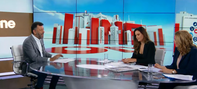 Θ. Σωτήρης στο One Channel: Τα κοινωνικά δίκτυα αποκαλύπτουν στοιχεία σε διαρρήκτες | tovima.gr