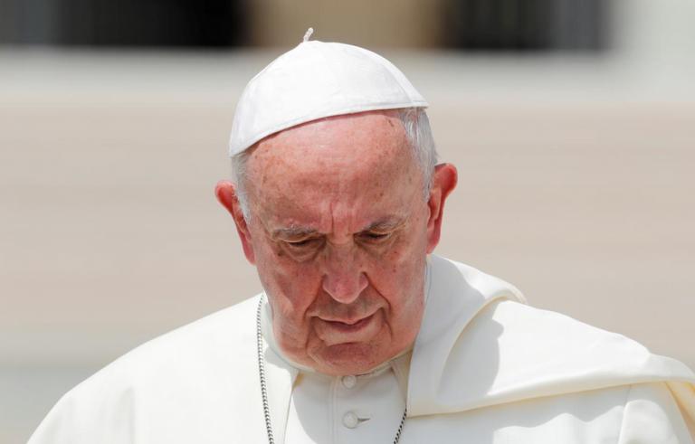 Βατικανό: Ο πάπας Φραγκίσκος καταδίκασε τις ένοπλες επιθέσεις στις ΗΠΑ | tovima.gr