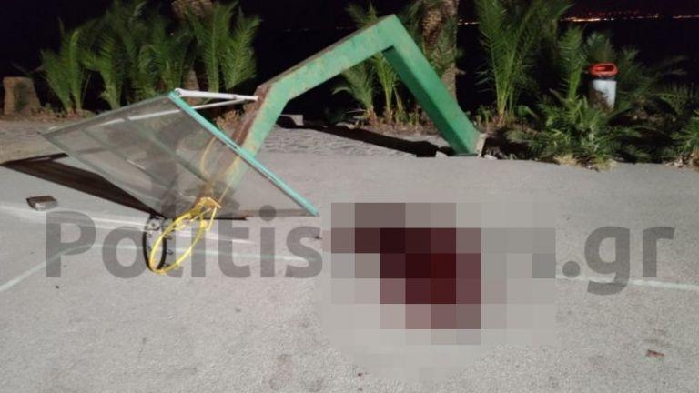 Χίος: Βρήκαμε το παιδί πεσμένο σε λουτρό αίματος | tovima.gr