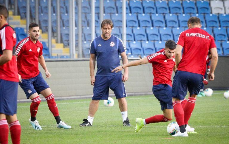 «Κλικ» από την προπόνηση του Ολυμπιακού στην Τουρκία | tovima.gr