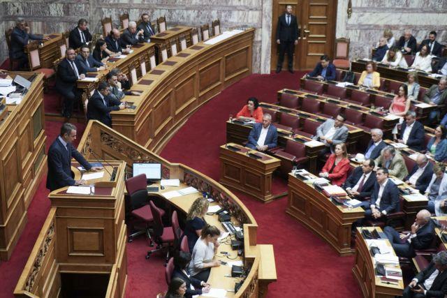 Καύσωνας στη Βουλή: Στο κόκκινο η αντιπαράθεση Μητσοτάκη – Τσίπρα   tovima.gr