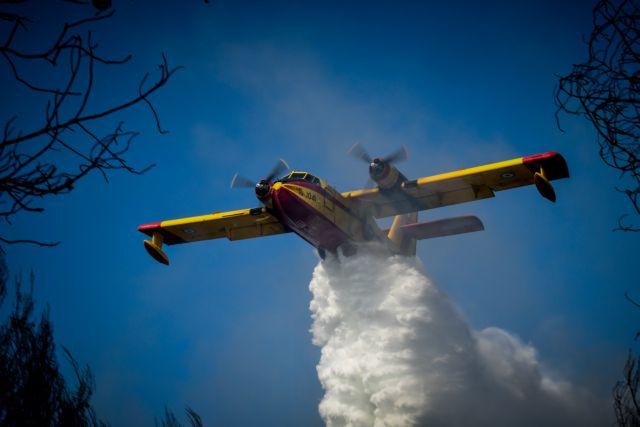 Πυρκαγιά στην περιοχή Παλαιομάνινα Αιτωλοακαρνανίας | tovima.gr