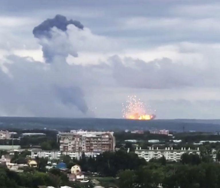 Ρωσία: Τριπλασιάστηκε η ραδιενέργεια μετά την έκρηξη στο πεδίο δοκιμών | tovima.gr