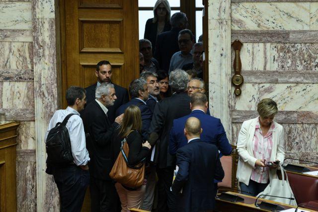 Βουλή: Αποχώρησε σύσσωμη η αντιπολίτευση | tovima.gr