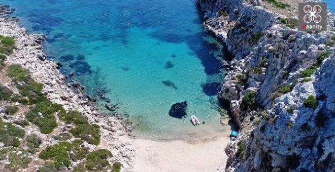 Δείτε το ελληνικό νησί σε σχήμα κροκόδειλου | tovima.gr