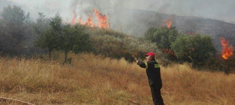 Φωτιά στο Μουζάκι Ζακύνθου   tovima.gr
