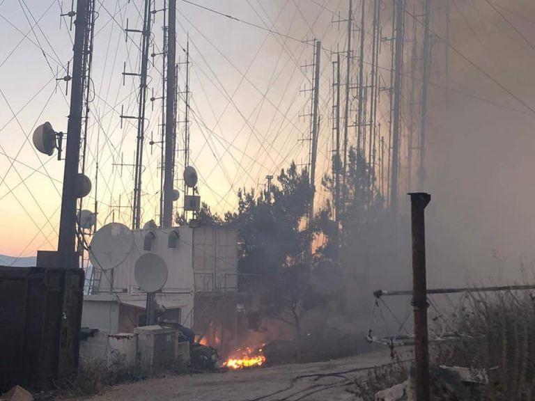 Φωτιά στον Υμηττό: Κάηκαν ολοσχερώς οι εγκαταστάσεις του Love Radio 97.5 | tovima.gr