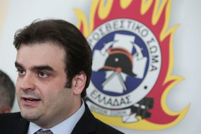 Πιερρακάκης για 112: Γιατί δεν στάλθηκαν SMS για τη φωτιά στον Υμηττό | tovima.gr