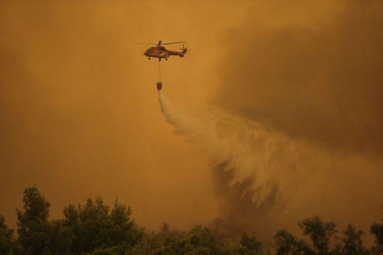 Φωτιά στην Εύβοια: Προσαγωγή υπόπτου για την πυρκαγιά στην Ιστιαία | tovima.gr