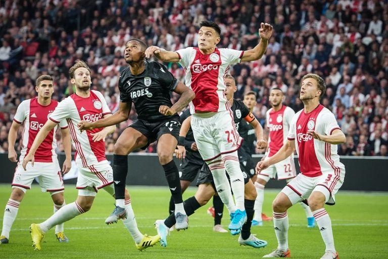 Έπεσε μαχόμενος ο ΠΑΟΚ στο Αμστερνταμ (3-2) | tovima.gr