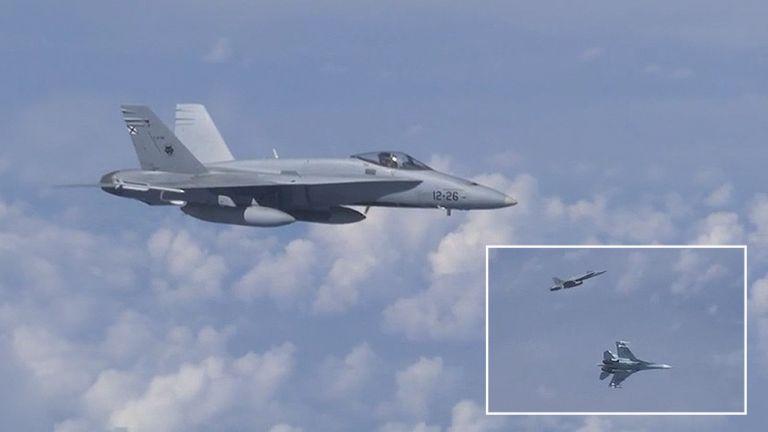 Νέα πρόκληση: Ρωσικά μαχητικά απώθησαν πολεμικό αεροσκάφος του ΝΑΤΟ   tovima.gr