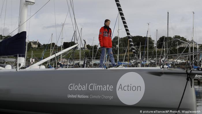 Γκρέτα Τούνμπεργκ: Διασχίζοντας τον Ατλαντικό για το κλίμα | tovima.gr