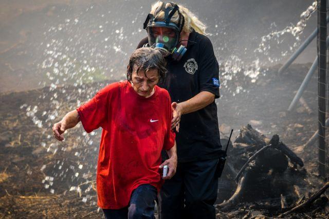 Δ. Σταθόπουλος στο One Channel: Δύσκολη η επιχείρηση της Πυροσβεστικής στην Εύβοια | tovima.gr