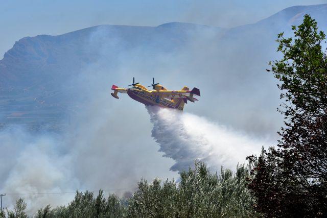 Για 3η ημέρα καίγεται η Εύβοια – Ξανά στην «μάχη» της κατάσβεσης και από αέρος   tovima.gr