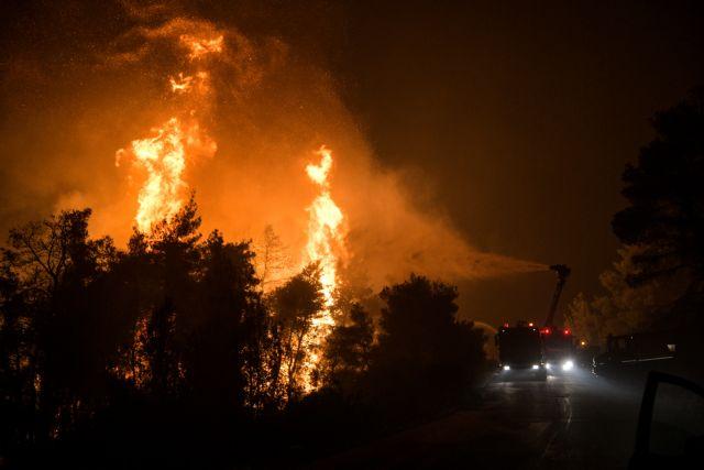 Ο σχεδιασμός για τη δεύτερη νύχτα της μάχης με τις φλόγες | tovima.gr