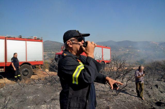 Υπό μερικό έλεγχο η πυρκαγιά στον Κάτω Δρυμό Καλαβρύτων | tovima.gr