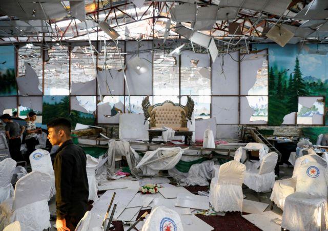 Καμπούλ: Δεκάδες νεκροί από επίθεση καμικάζι σε γάμο   tovima.gr
