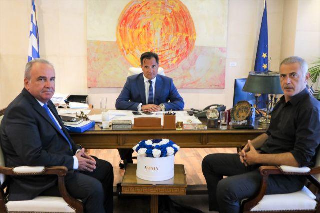 Επενδύσεις, ΕΣΠΑ και ΟΛΠ στην ατζέντα της συνάντησης Γεωργιάδη-Μώραλη | tovima.gr