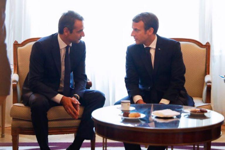 Για επενδύσεις και Αν. Μεσόγειο θα συζητήσουν Μακρόν-Μητσοτάκης | tovima.gr