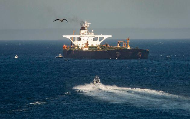 Grace-1: Προς Καλαμάτα κατευθύνεται το ιρανικό δεξαμενόπλοιο από το Γιβραλτάρ   tovima.gr