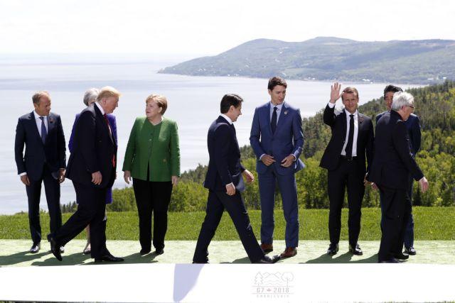 Οι G7 στο Μπιαρίτς: Προς αδιέξοδο η Σύνοδος λόγω εμπορίου και κλίματος | tovima.gr