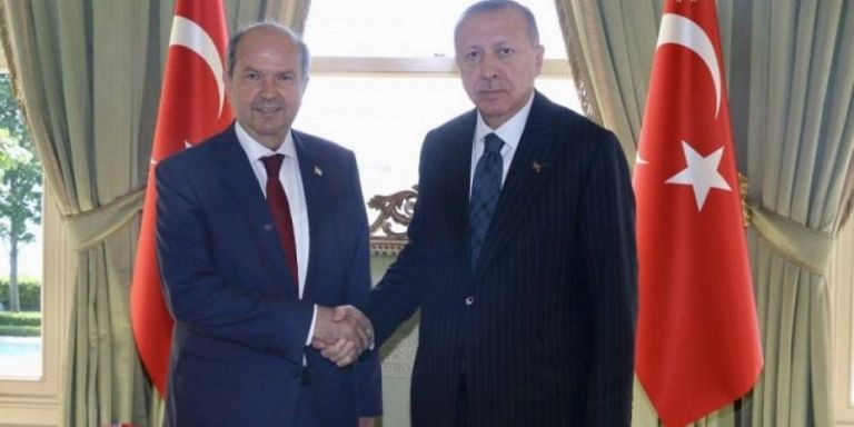 Ερντογάν – κυβέρνηση κατεχομένων συζητούν για την  κυπριακή ΑΟΖ | tovima.gr
