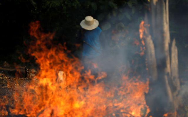 Αμαζόνιος: Ο «πνεύμονας» του πλανήτη καίγεται ο Μπολσονάρου αδρανεί | tovima.gr
