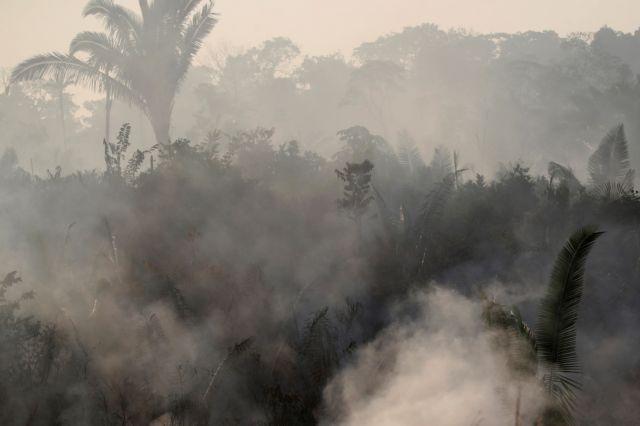 Αμαζόνιος: Εικόνες αποκάλυψης από τη φωτιά | tovima.gr